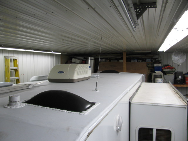 Travel Trailer Roof Damage