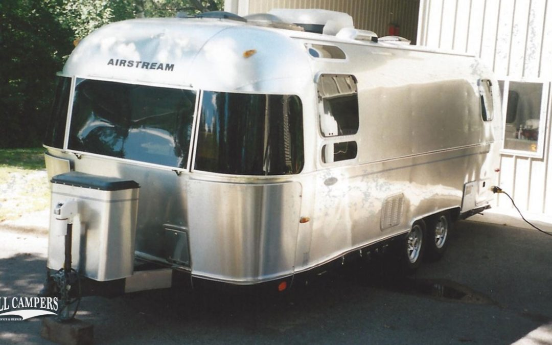 Airstream Travel Trailer – Front, Side and Rear Repair