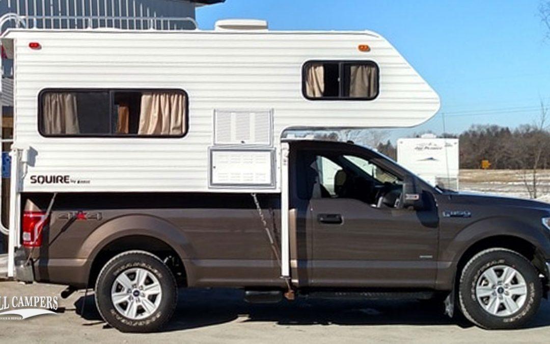 Pickup Camper Exterior Restoration